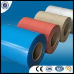 PE/PVDF colour coated DC material aluminium gutter coil with Certificate