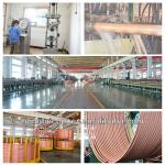 99.9% cu water gas line straight Copper Pipe/copper piping-straight length copper pipe