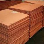 High Pure Copper Cathode 99.99%-