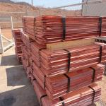 Electrolytic Copper Cathode 99.9% Plates.-