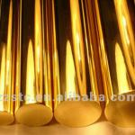 Polished Round Brass Bars-C3601, C3712
