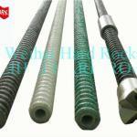 FRP epoxy resin right hand thread fiberglass reinforcing hollow frp bolt-Dia 20-40mm