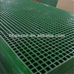 2.5cm Green GRP grating floor/reinforced fiberglass grating sheet/fiberglass grating factory-YS-TM1