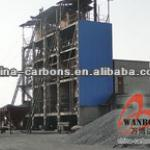 Electrically Calcined Anthracite Coal--Wanboda Brand For Making Electrode Paste and Aluminium Industry-WBD-ECA