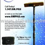 Sim60' Adjustable and Clamp Less Carbon Fiber Poles-siim60