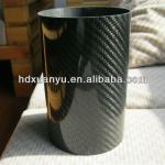 large diameter carbon fiber tube-XYT