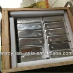 High purity indium ingot 99.99% 99.995% 99.999% with best price-4N
