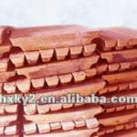 pure copper ingot-