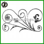 New Style wrought iron components ,iron ornamental products-XC-3014