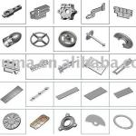 aluminum parts with good quality-ST