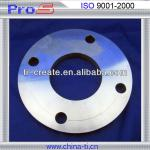 Titanium flange for industry with hole named ProS have different size and shape-According your requirements,WD-F-0418