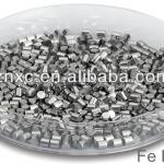 High Purity Fe Evaporation pellets Fe pellets for Coating 99.99%-High purity