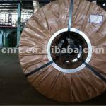 hot dipped galvanized 1000mm width colored steel sheet coil-