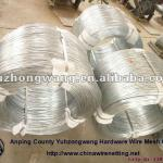 bwg 12 14 16 18 hot dipped / electric galvanized iron wire made in china (real factory)-YZW-GL-001