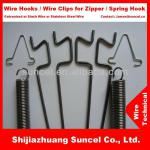 Spring Wire Clips, Metal Wire Hooks and Wall Tie Wire-SCWT-001