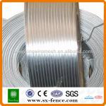 2.4x3.0mm Hot dipped galvanized oval wire(professional manufacturer)-SX-06