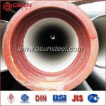 ISO2531 K9 Centrifugal Ductile Cast Iron Pipe with ISO8179 Zinc Spray & ISO4179 Cement Mortar Lining-