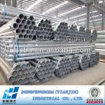 Chinese pipe and tube suppliers Q235 pregalvanised iron tubes-ERW GI PIPES