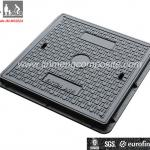 BS EN124 A15 Jinmeng brand sewer manhole cover and frame SGS BV-JM-MS202A