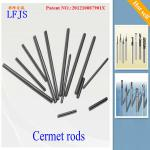 Dia 14.2mm * 330mm L cermet rods, rods for end mill,drill bits, cutting tools-Dia 1mm-25mm