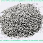 tungsten carbide grits cemented carbide granules on abrasive disc used for wear resistance-5-8mesh