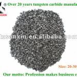 Crushed tungsten carbide grits, cemented carbide grits-20-30 mesh