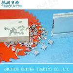 YG8 hard alloy(tungsten carbide) saw tips for wood working produced by zhuzhou manufacturer-various type
