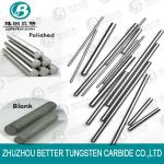 supply all kinds of tungsten carbide rods&hard alloy round bars in china-customized