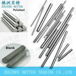 solid sintered carbide rods blank and polished both available-customized