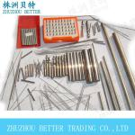 supplier produce high quality different size solid carbide rods in china-various