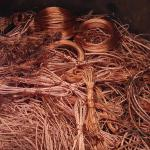 Best price wire copper scraps from China-red