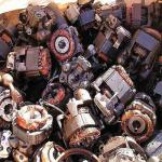 used electric motor scrap-
