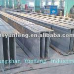 wide flange hot rolled steel H beam,Narrow flange h beam ,ss400 h beam-Q235B