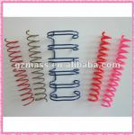 11.1 mm colorful double metal binder ring for binding calendary