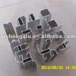 Aluminium frame profiles for casement window