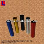 aluminium tube with machining