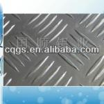aluminum alloy embossed plate for Running boards