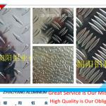 aluminum checkered plate for floor alloy 1100 3003 3105 5052 China supplier