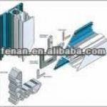 Aluminum extrusion enclosure, aluminum extrusion press, LED aluminum extrusion