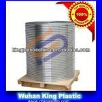 Cable armouring plastic coated aluminium ribbon