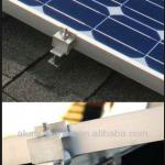 Details of Solar Roof Mounting System Aluminium Profiles 6063