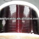Enameled rectangular copper winding wire for transformers