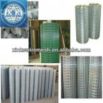 Factory suply high quality galvanized and pvc coated welded wire mesh