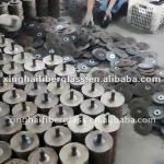 Fiberglass backing plate for flap disc making