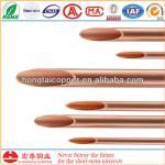 HONGTAI C12200 ASTM B280 12mm copper tube Inner grooved for ACR