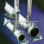 irrigation pipe system in Aluminium