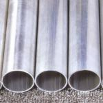 large size of aluminium pipe for OD 380mm
