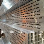 punching aluminum profile for tube