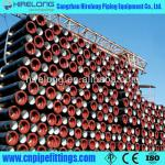 Ceramic epoxy lining ductile cast iron pipe for potable water-K9
