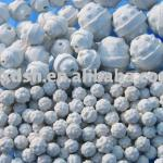 Patent Product:2/5'' Kaolin Ceramic Balls shaped Pineapple with hole for Isoforming-